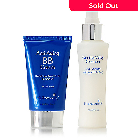 305-964 - Hydroxatone Anti-Aging BB Cream & Gentle Milky Cleanser Duo