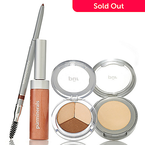 306-007 - Pür Minerals Four-Piece ''Natural by Nature'' Makeup Collection