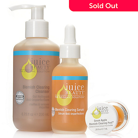 306-138 - Juice Beauty Blemish Cleanser & Serum Duo w/ Blemish Clearing Peel Deluxe Sample