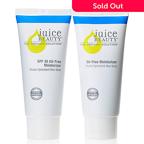 306-154 - Juice Beauty AM/PM SPF 30 & Oil-Free Moisturizer Duo