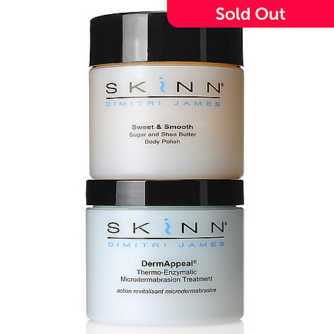 306-307 - Skinn Cosmetics Two-Piece DermAppeal & Body Polish Collection