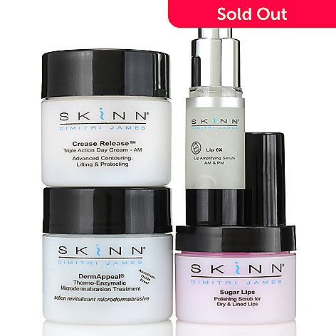 306-312 - Skinn Cosmetics Four-Piece Exfoliate & Treat Collection
