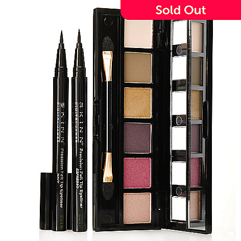 306-320 - Skinn Cosmetics Three-Piece Patina Eye Shadows & Eyeliner Collection