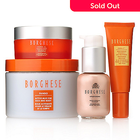 306-410 - Borghese Four-Piece ''C Your Beauty'' Skincare & Color Set