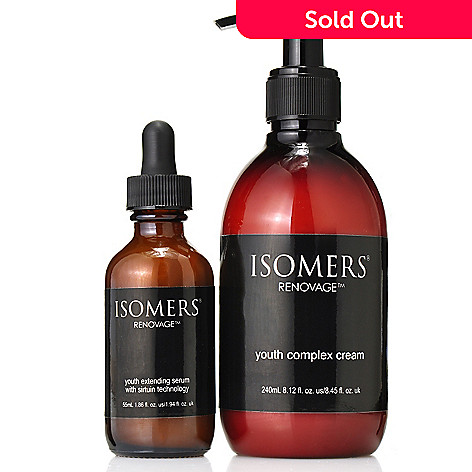 306-458 - ISOMERS Skincare Bonus Size Renovage Youth Extending Serum & Complex Cream Duo