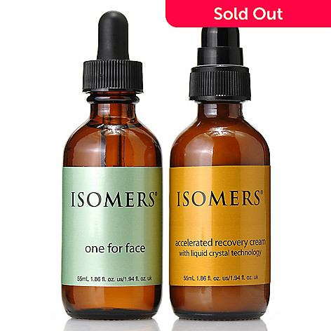 306-460 - ISOMERS Skincare One for Face Serum & Accelerated Recovery Cream Duo