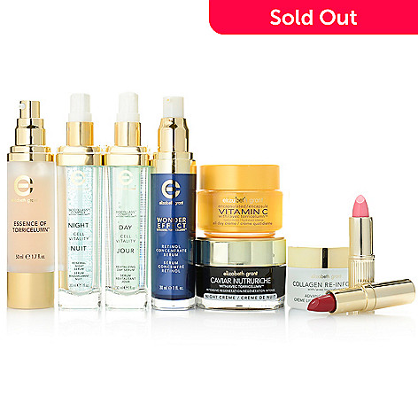 306-493 - Elizabeth Grant Nine-Piece Anti-Aging Skincare & Lip Color Collection