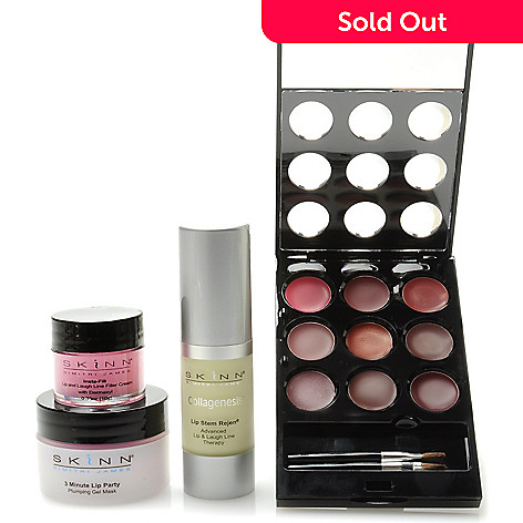 306-502 - Skinn Cosmetics Four-Piece ''Spiced up Lips'' Collection