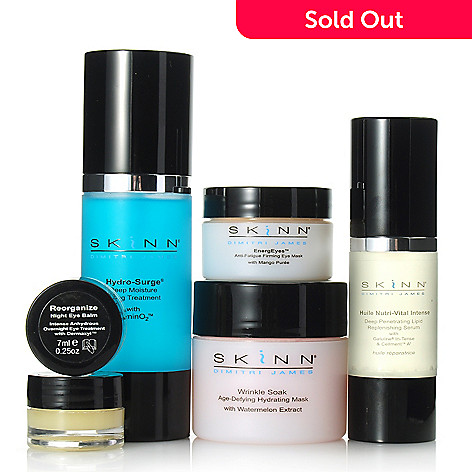 306-505 - Skinn Cosmetics Six-Piece Hydration Essentials Collection