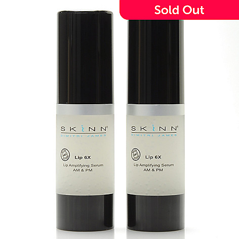 306-510 - Skinn Cosmetics Lip 6X Lip Amplifying Serum Duo 0.5 oz Each