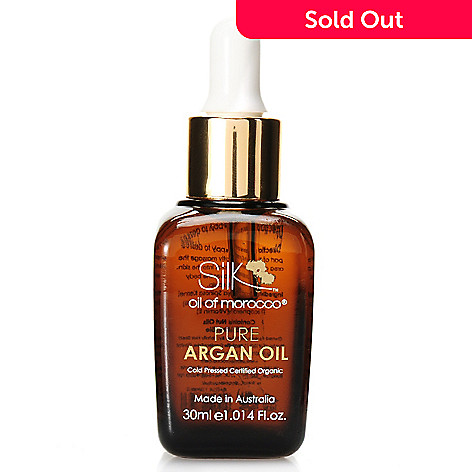 306-581 - Silk Oil of Morocco® Pure Argan Oil Replenishing Moisture Treatment 1.014 oz