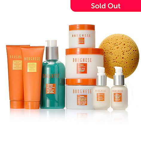 306-605 - Borghese Nine-Piece ''Spa Divine'' Skincare Collection