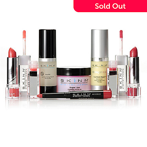 306-672 - Skinn Cosmetics Six-Piece Lip & Laugh Collection