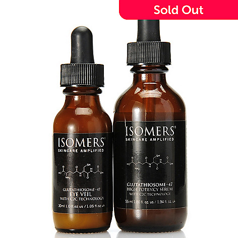 306-746 - ISOMERS® Glutathiosome-47 C2C Eye Veil & High Potency Serum Duo