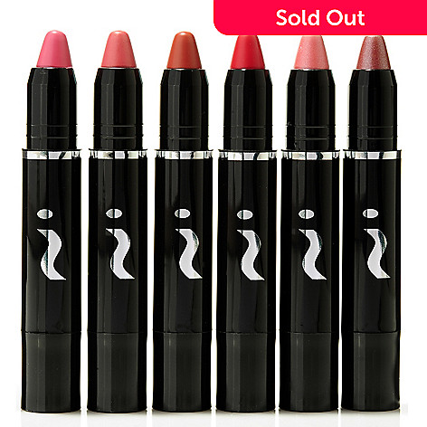 306-844 - Skinn Cosmetics Six-Piece Glosstick Moisturizing Lip Color Collection