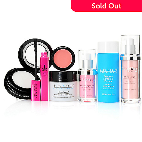 306-933 - Skinn Cosmetics Seven-Piece ''Customer Favorites'' Skincare & Color Collection