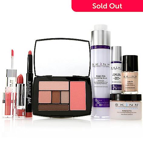 306-935 - Skinn Cosmetics Seven-Piece ''Bright & Beautiful'' Skincare & Color Collection