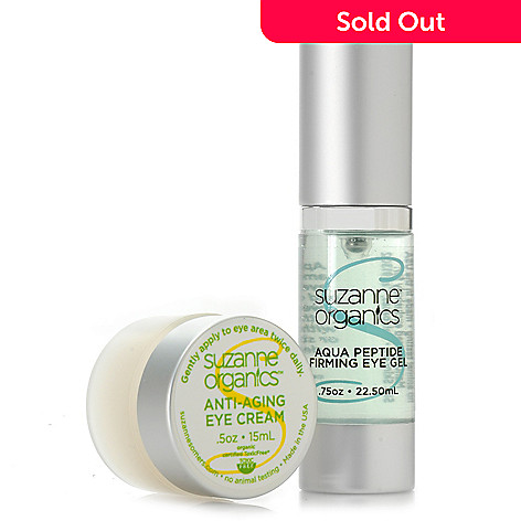 307-150 - Suzanne Somers Organics Firming & Moisturizing Day & Night Eye Duo