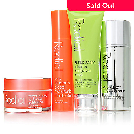 307-218 - Rodial Four-Piece ''Good to Glow'' Radiant Skincare Essentials