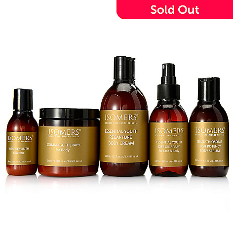 307-564 - ISOMERS® Five-Piece Smooth & Hydrate Beauty Goddess Ritual for Face & Body