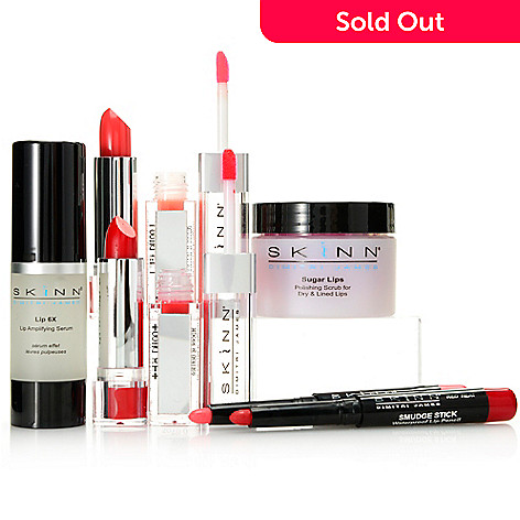 307-713 - Skinn Cosmetics Six-Piece Complete Lip Makeover Collection