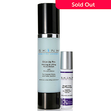 307-743 - Skinn Cosmetics Chin-Up Pro & Bright Side Spot Treatment Skincare Duo