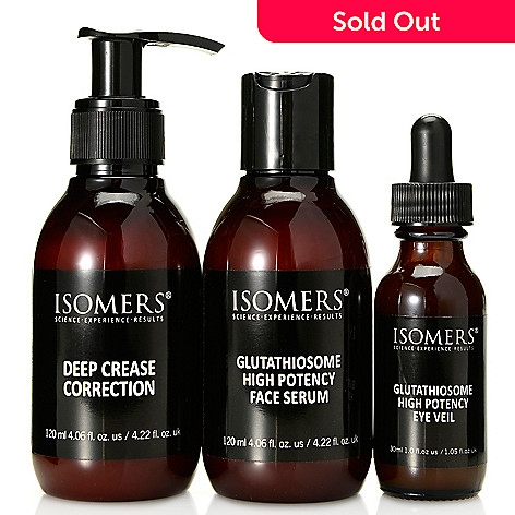 308-104 - ISOMERS Skincare Three-Piece Glutathiosome & Deep Crease Correction Skincare Set