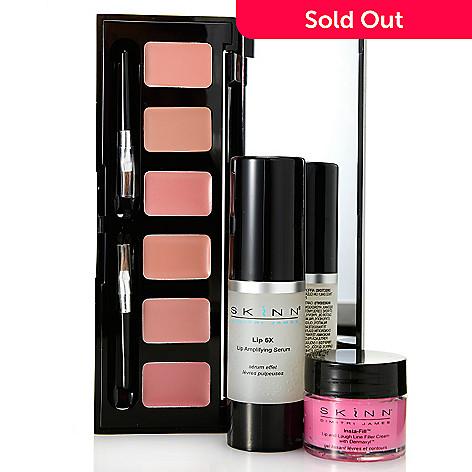 308-531 - Skinn Cosmetics Lip 6X Serum, Insta-Fill for Lips & Hollywood Lip Palette Trio
