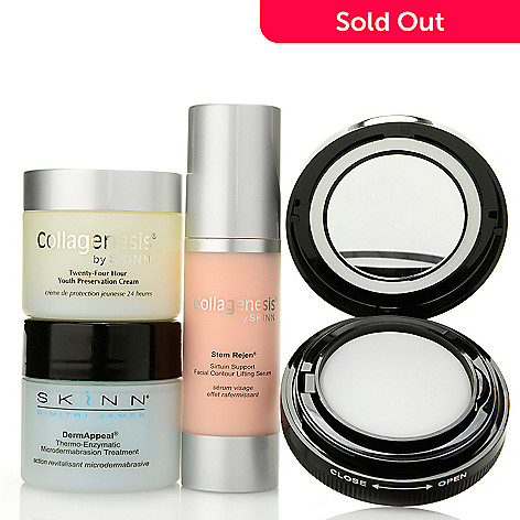 308-540 - Skinn Cosmetics Four-Piece Hydrate & Smooth Skincare Set