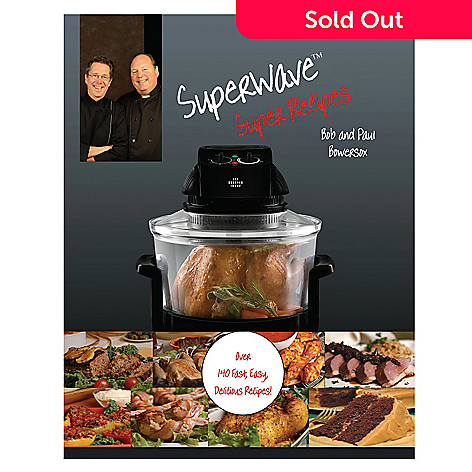400-021 - The Sharper Image ''Super Wave Super Recipes'' Cookbook