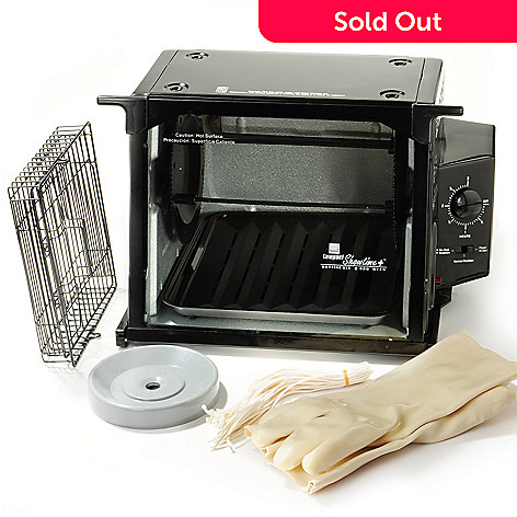 400-136 - Ronco Showtime Compact Rotisserie Bundle w/ ''Set It & Forget It'' Function