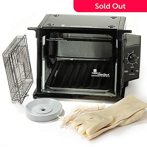 400-136 - Ronco Showtime Compact Rotisserie Bundle w/ ''Set It & Forget It'' Function