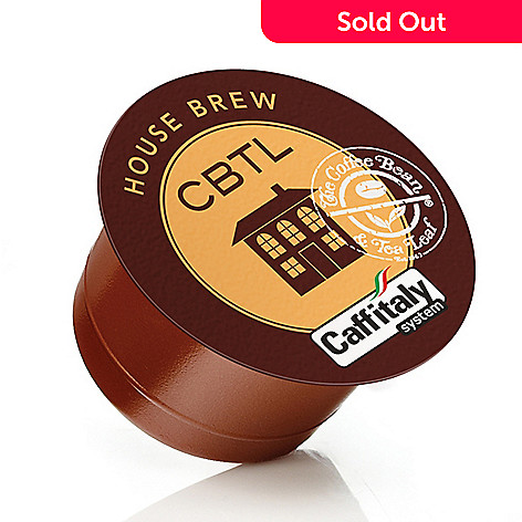 400-191 - CBTL Set of 48 Single-Serve Coffee Capsules