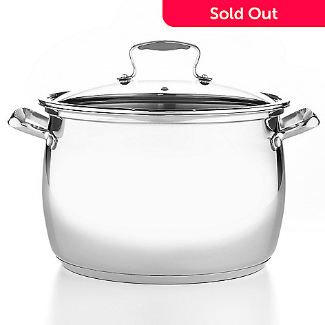 400-274 - Macy's Tools of the Trade® Belgique® Stainless Steel 16-Quart Stock Pot