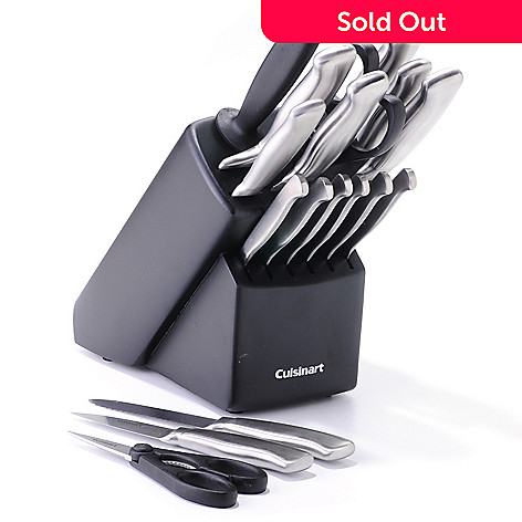 400-329 - Cuisinart® 18-Piece Forged Cutlery Set in Wood Block