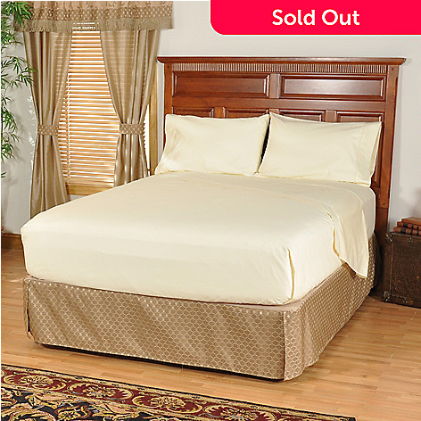 401-229 - Dream Oaks 700TC Cotton Sateen Four-Piece Sheet Set