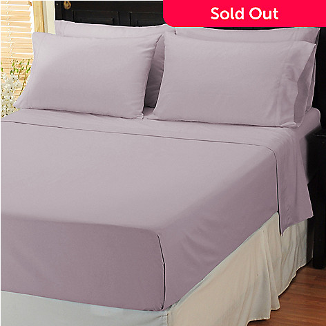 401-534 - Cozelle™ Medium-Weight Microfiber Six-Piece Sheet Set