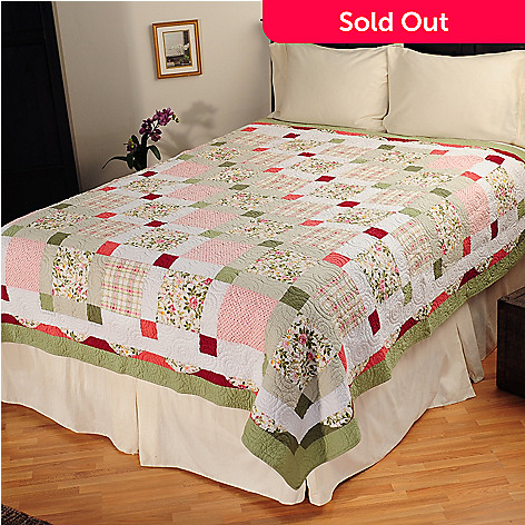 401-557 - North Shore™ Collectible Quilts ''Darcy'' Quilt - Full / Queen Size