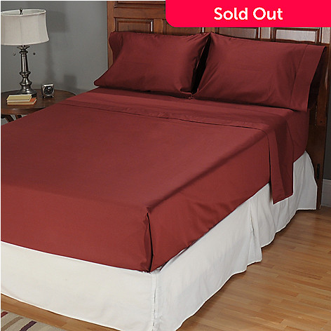 401-686 - North Shore Linens[ 1000TC Egyptian Cotton Sateen Four-Piece Sheet Set