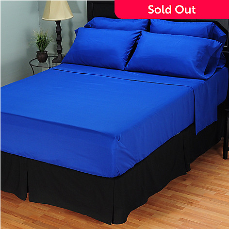 401-703 - Cozelle™ 95 GSM Microfiber Six-Piece Sheet Set