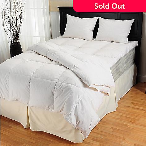 401-737 - Cozelle® Nano-Tex® Beautiful Dreamer™ Comforter, Featherbed & Pillows Set