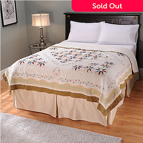 401-740 - North Shore[ ''Twilight'' Limited Edition Embroidered Stars King Quilt
