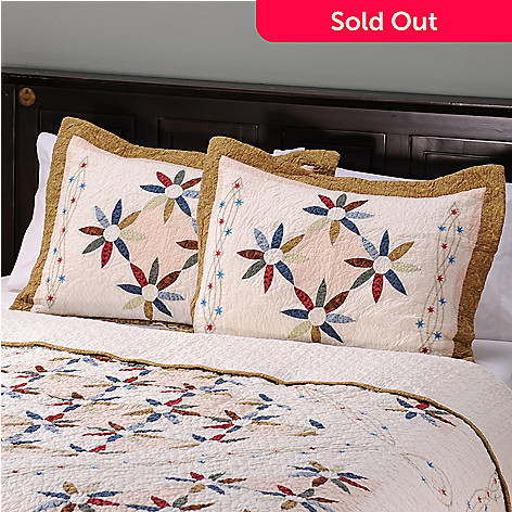 401-741 - North Shore[ ''Twilight'' Limited Edition Embroidered Stars Sham Pair