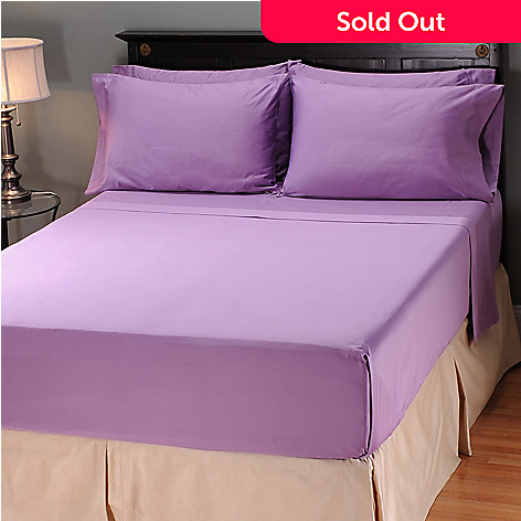 401-767 - North Shore Linens™ 600TC Egyptian Cotton ''Spring Bouquet'' Six-Piece Sheet Set