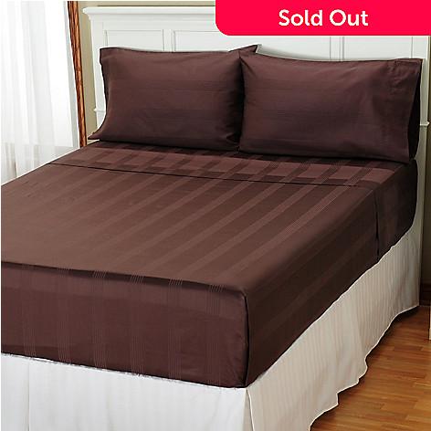 401-779 - North Shore Living™ 500TC Egyptian Cotton Four-Piece Sheet Set
