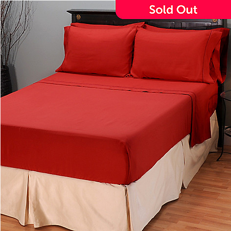 401-785 - Cozelle™ 95 GSM Microfiber Barada Embroidered Six-Piece Sheet Set