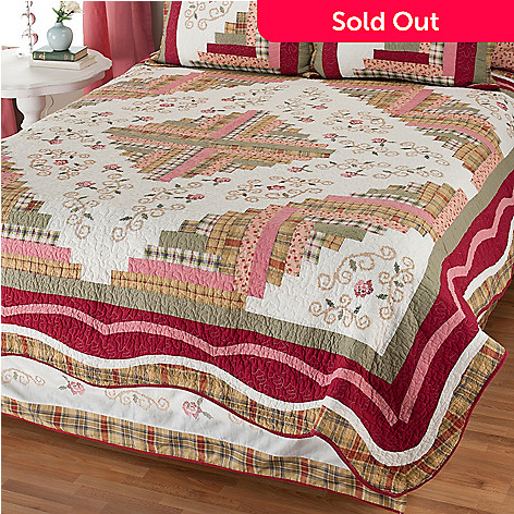 401-790 - North Shore™ Collectible Quilts ''Millbrook'' Limited Edition Quilt - Full / Queen Size