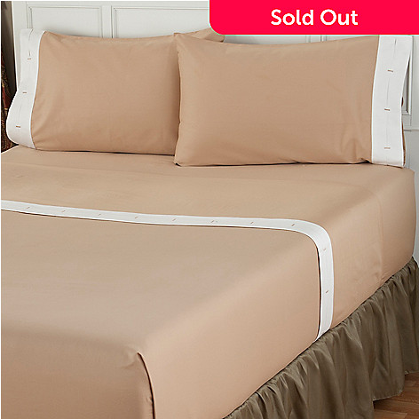 401-835 - North Shore Linens™ 400TC Egyptian Cotton ''Cuff Hem'' Four-Piece Sheet Set
