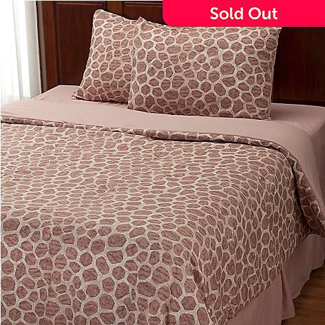 401-955 - Cozelle® ''Giraffe'' Microfiber Four-Piece Comforter Set
