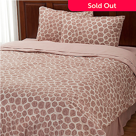 401-956 - Cozelle® ''Giraffe'' Three-Piece Duvet Set